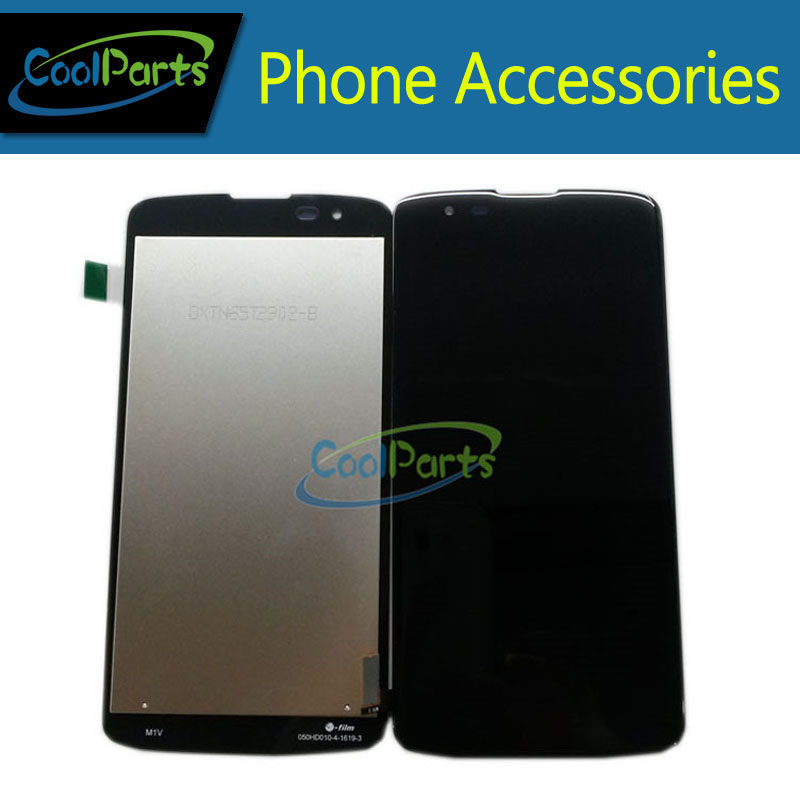 New Replacement Part Black and White Color For LG K8 K350 LCD Display and Touch Screen Digitizer  Free Shipping 1PC/Lot<br><br>Aliexpress