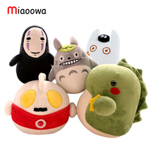 5 Designs 16cm Creative Plush Toys Totoro  ,No Face Man,  And The Little Monster Popular  Bamboo Charcoal  Kids Toys