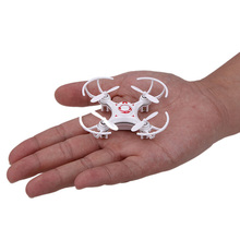 2015 Hot Sale Pocket Drone 4CH 6Axis Gyro Professional Mini RC Quadcopter Switchable Controller RTF Headless Helicopter(China)