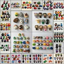 Free DHL-1000PCS Tsum Tsum/Avengers/Sesame Street/Star Wars/Hello Kitty PVC Shoe Charms Buckle Shoe Accessories Party Decoration