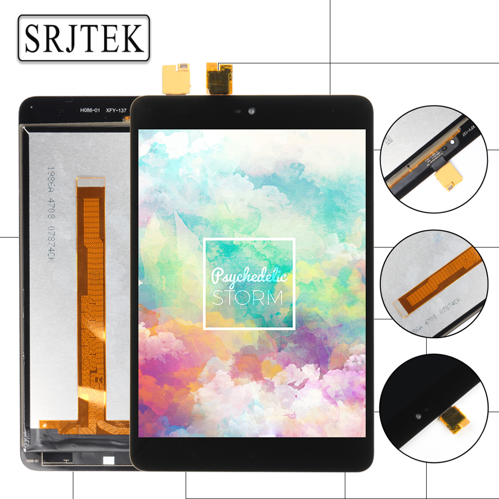 Srjtek For Xiaomi Mi Pad 2 Mipad 2 7.9 inch Black New LCD Display Matrix Touch Screen Digitizer Assembly Tablet PC Replacement <br>