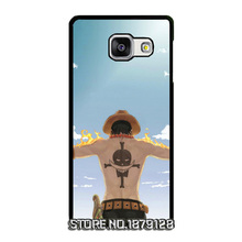 One Piece Portgas D Ace Fire Cover Case for Samsung Galaxy A3 A5 A7 2016 A8 A9 J1 Ace mini J2 J3 Pro J5 J7