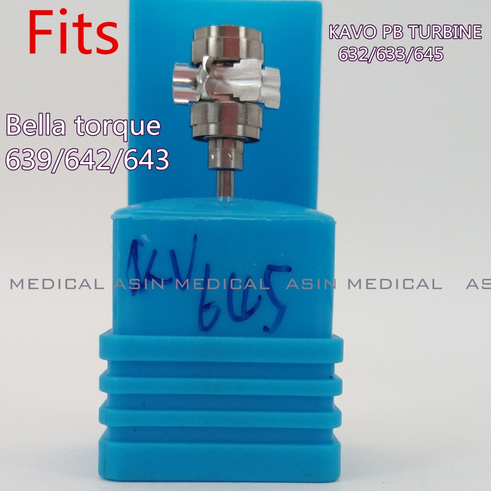 3 PCX KAVO Bella torque 639/642/643 KAVO PB TURBINE 632/633/645  for KaVo TURBINE handpiece cartridge with ceramic bearing made<br>