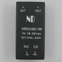 24V to 24V 10W dc dc converters Single output Isolated dc-dc power modules Voltage Transformer