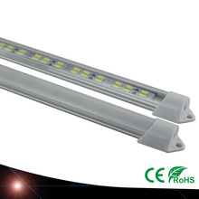 4X LED Bar Lights White Warm White Cold White DC12V 2835 LED Rigid Strip LED Tube with U Aluminium Shell + PC Cover 50CM(China)