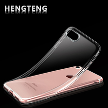 Ultra Thin Soft Phone Case for iPhone 5 5s 6 6S 6Plus 7 Plus X Soft Silica Gel TPU Silicone Ultra Thin Mobile Phone Cover Cheap(China)