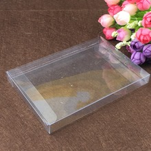 50pcs 3*6*9cm clear plastic pvc box packing boxes for gifts/chocolate/candy/cosmetic/crafts square transparent pvc Box