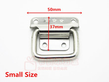 Stainless Steel Tool Box Knobs Handle For Suitcase Knob Air Box Pull Knobs Luggage Wooden Box Handle(China)