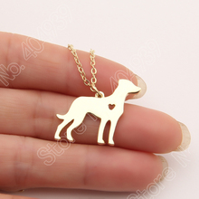 1pcs  Catahoula Necklace Dainty Pendant Puppy Heart Dog Lover Memorial Pet Necklaces & Pendants Women Charms Christmas Gift