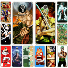 One Piece Roronoa Zoro White Cover Case Meizu M3S M3 M2 Miniu M5 Note M5S U10 U20 Pro 6 - Shenzhen ZhuoYou Technology Co.,LTD store