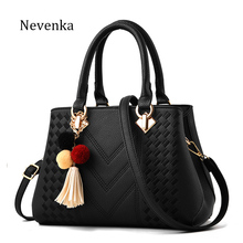 Nevenka Bags For Women Leather Lady Handbag Messenger Bag Female Brand Evening Hand Bags Flower Colorful Tote Fashion Design(China)