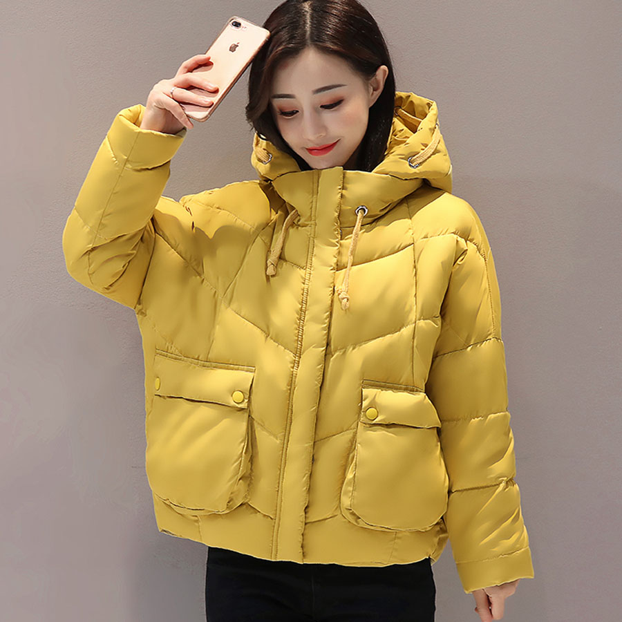 Winter Jacket women 2017 Fashion Hooded Jacket Cotton Padded Long Sleeve Winter coat women  Down Wadded Warm Outerwear FemaleÎäåæäà è àêñåññóàðû<br><br>