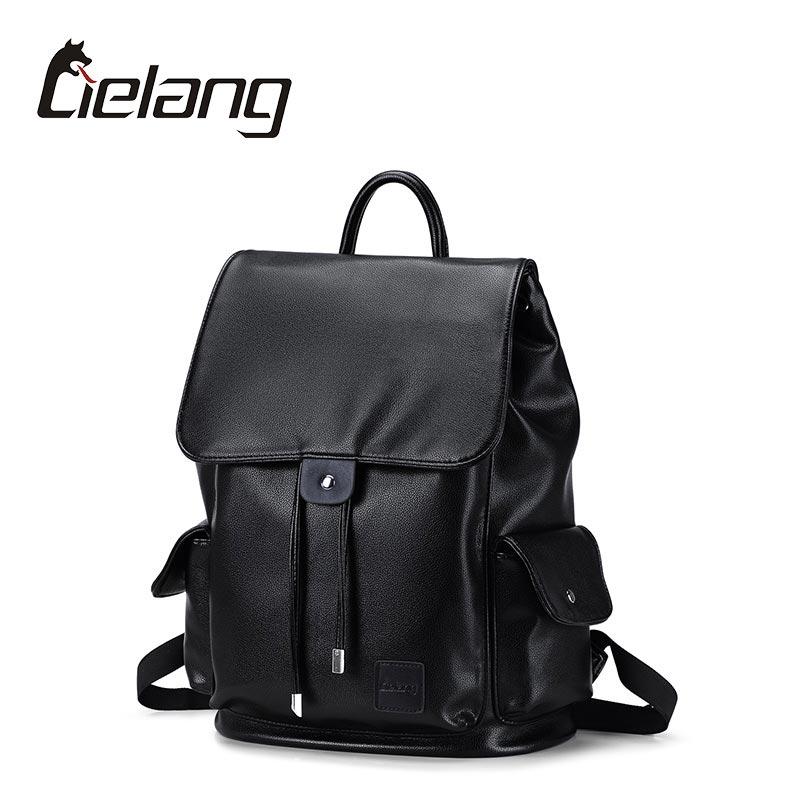 LIELANG High Quality Men Backpack Vintage Style Leather Men Bag Daypack Teenage Schoolbags Men Travel Laptop Bags For 14 Inch<br><br>Aliexpress