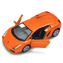Scale 1:32 KINSMART Gallardo Car Toy, Alloy & Diecast Metal Car Model Toys, Simulation Sports Car Red, Toy Collection Brinquedos(China)