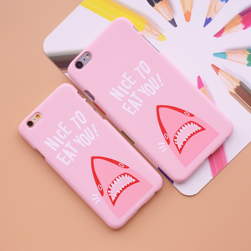 "Nice To Eat You"" Shark Phone Cases 5"