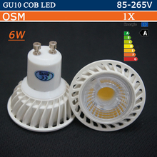 Dimmable GU10 Led cob Lamp AC 220V 110V GU 10  Led Spotlight Warm Spot Light LED Bulb Lampada GU10 Lampara Ampoule Led Bombillas