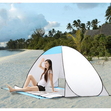 Holiday supplies Beach Park outdoor leisure tent, automatic fast open, sunscreen /breathable /anti UV /stain resist tent 1 piece