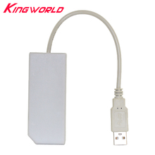 LAN Network Adapter Connector USB Plug Play Internet Ethernet Cable For Nintendo Wii for U PC Promotion