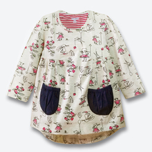 New Baby Girl Dress Cotton Long Sleeve Kids Dresses For Girls Spring Fall Good Quality Girls Clothes Children Dresses 1-6 Years