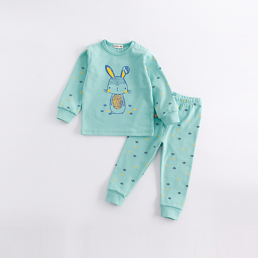 Peninsula Baby Spring newborn clothes cartoon Print animal cute long sleeve thicken baby Coverall boys costume kids products <br>