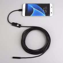 3.5M 5M 7MM Waterproof Pipe inspection Android OTG Endoscope Inspection Micro USB Borescope LED Tube Snake Camera Scope Gadgets