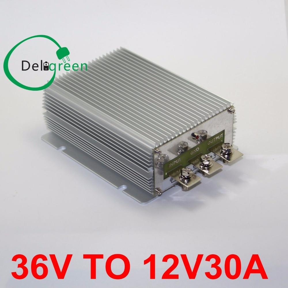 36V to 12V 30A DC DC Converter  Regulator Car Step Down Reducer Buck converter free shipping<br>
