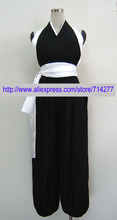 Hot Sale Custom Cheap Bleach 2nd Division Captain Soi Fong Cosplay Costume Anime clothing Christmas(China)