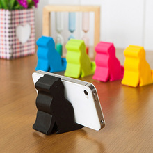 Cute Mini Cat Shape Phone Tablet Mounts Stand Holder Tool for iPhone iPad