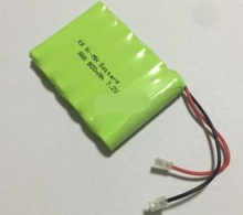 Free ship 7.2V AAA 800mAh NI-MH Battery Pack Rechargeable battery batteries(China)