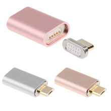 3 Colors New Desgin Micro USB Charging Cable Magnetic Adapter Data Charger For Samsung LG HTC For Android Charger P25