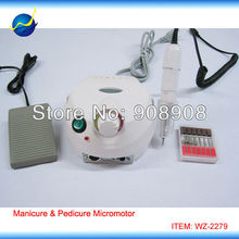 New Pedicure and Manicure Micromotor for Electronic Nail Beauty, Art Drill, Spas, Fingernail & Toenail Polishing Machine
