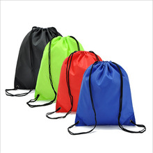 Waterproof Nylon Storage Bags Drawstring Backpack  Toys Travel Shoes Laundry Lingerie Makeup Pouch