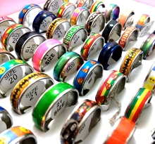 50pcs Mix lot Men Women Stainless Steel Rings Top design Mixed Fashion Rings Party Gift Favor Wholesale Jewelry