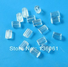 Vintage Transparent Tube Rubber Earring Back Stopper Finding For Women Jewelry Gifts Accessories DIY Jewelry 10000PCS Z875(China)