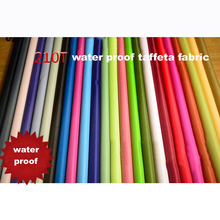 2 meters/lot outdoor fabric 210T polyester taffeta sun water proof tents car cover umbrella fabric pu coated(China)