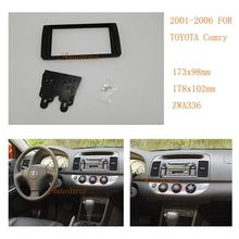 2-DIN Car Stereo Radio Fascia Plate Panel Frame Kit For TOYOTA Camry 2001-2006 (USA market) ZWNAV 11-336(China)