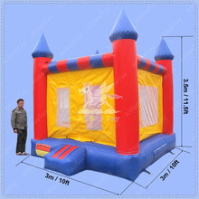 Nice Inflatable Bounce House, Commercial Inflatable Bouncer, Free Shipping Bouncy Castle(China)