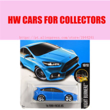 2016 Hot 1:64 car Wheels ford focus rs Car Models Metal Diecast Cars Collection Kids Toys Vehicle For Children