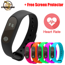 Bluetooth Smart Wristband Step Counter Passometer Heart Rate Monitor Bracelet Sleep Fitness Tracker Sport Band M2 pk Xiaomi Mi2