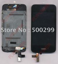 For iphone 3GS lcd screen with touch screen digitizer assembly by free shipping; 100% Warranty without erro-pixels