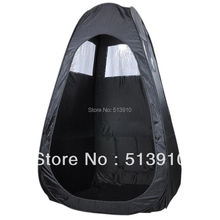 Black/Tan/Pink Pop Up Airbrush Makeup Sunless Spray Tanning Tent Booth Clear Window accept OEM order/Stock tent have no logo(China)