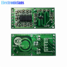 With The Penetrating Detection Capability 5Pcs RCWL-0516 Microwave Radar Sensor Human Body Induction Switch Module Output 3.3V