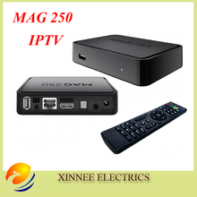 Best Linux mag250 IPTV box , Set Top Box support Wifi usb connector, Cable Not include IPTV account,mag 250 support update(China)