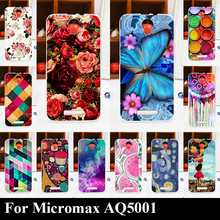 Solf TPU Silicone Case For Micromax AQ 5001 AQ5001 Mobile Phone Cover Bag Cellphone Housing Shell Skin Mask Color Paint