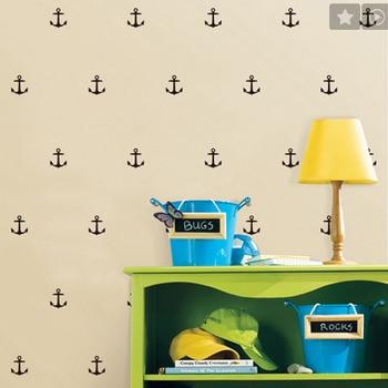 28 Pcs Anchor Pattern Removable Wall Sticker Decal Vinyl Kid Art Decor Mural DIY