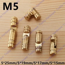4pcs size 5*25mm/5*19mm/5*17mm/5*15mm Pure Copper Brass Wine Jewelry Box Hidden Invisible Concealed Barrel Hinge