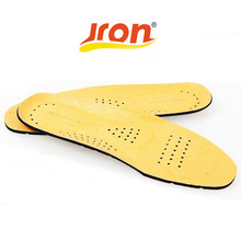 First Layer Pigskin Leather Insole Orthotic Pronation Insoles For Man Feet Beauty Shoes Cushion New Unisex Insert(China)