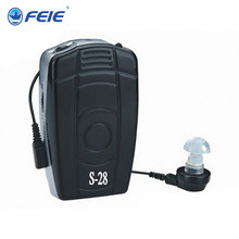 Feie Analog Pocket Hearing Accessories Best Selling Hearing Aid S-28