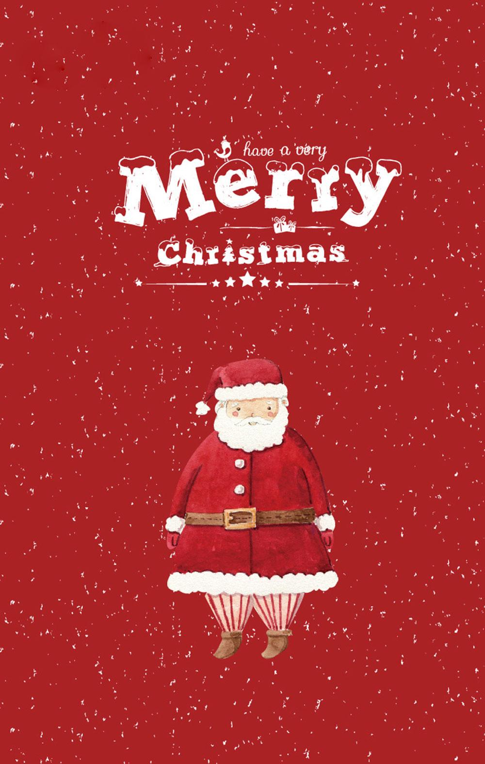 Box Merry Christmas Lomo Cards Gift Message Greeting Card Christmas