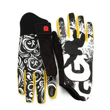Professional Ski Gloves Women Men Nonslip Snowboard Glove Snowmobile Motorcycle Riding Winter Gloves Windproof Waterproof(China)